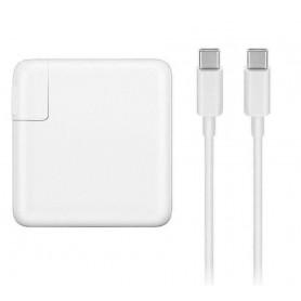 DrPhone USB-C Power Adapter 61w - Adapter Voeding + Type-C naar Type-C Kabel