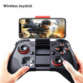 DrPhone Handheld Draadloze Gamepad - Controller - Joystick controller voor iOS / Android / iPad / Tablet / TV / PC /