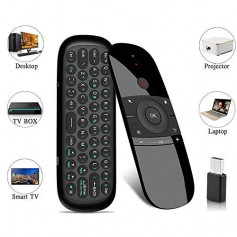 DrPhone Air Mouse – Air Remote Mouse – 57B draadloos toetsenbord – 2.4G Smart TV Remote met muis – Game Handvat –