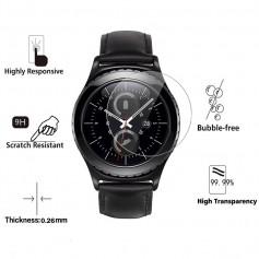 DrPhone PROTEC Series - Samsung Galaxy Watch 46mm Glazen Protector - Screenprotector Glas - Op maat Gesneden