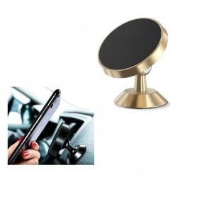 DrPhone A3 Extreme - Force 4 - Magnetische Autohouder Dashboard Houder Magneet Smartphone Houder + 1 3M Metalen