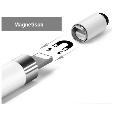 DrPhone Apple Pencil Cap (Tip) - Magnetische Vervangende Dop – Stylus Pen Accessoire