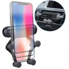 DrPhone V3 Smartphone Ventilatie Houder met Pneumatische schokbescherming & Automatische Vergrendeling & Release