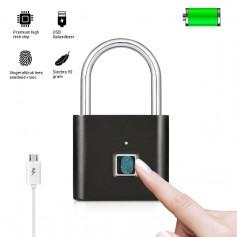 LUXWALLET LUXLOCK - USB Slot Met Vingerafdruk - Opent in 1 Sec - 6 maanden Standby - USB Oplaadbaar - Veilig en Betrouwd