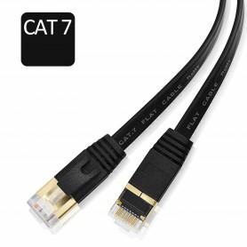 DrPhone Ethernetkabel - CAT7 RJ45 LAN - Internetkabel tot 600 MHz - Plat ontwerp - 2 Meter