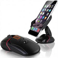 DrPhone DC2 Auto Houder – 360 graden roteerbaar - One Touch-systeem - Muis ontwerp