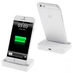 Docking Station iPhone 6 / 6 Plus / 5S / 5C / 5 Wit