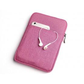 S02 DrPhone 7 inch E-Reader Soft Sleeve Beschermhoes - Pouchbag - Roze( geschikt voor o.a zie productbeschrijving)