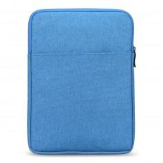 S02 DrPhone 8 inch Pouchbag Soft Sleeve Beschermhoes - Blauw ( geschikt voor o.a zie productbeschrijving)