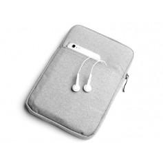 S02 DrPhone 8 inch Pouchbag Soft Sleeve Beschermhoes - Grijs( geschikt voor o.a zie productbeschrijving)