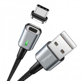 2x DrPhone iCON - USB C Oplaadkabel Magneet - Snellader Qualcomm 3.0 - Datakabel - Type C - Ondersteuning Snelladen