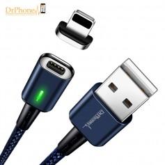 DrPhone iCON Series - Gecertificeerde Oplader - Magnetische Apple iPhone / iPad oplaadkabel + Datakabel - Ijzersterk