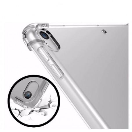 DrPhone iPad Air 10.5 (2019) TPU Hoesje - Siliconen Bumper Case met Verstevigde randen