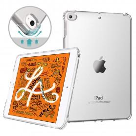 DrPhone iPad Mini 5 (2019) TPU Hoesje - Siliconen Bumper Case met Verstevigde randen