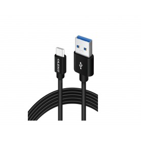 Olesit Micro-USB 3.0 3 Meter Fast Charge 2.4A - Oplaadkabel - Veilig laden - Data Sync & Transfer - Zwart