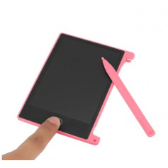 DrPhone KiDS Drawing - 4.4 Inch LCD Tablet - Digitaal Tekenen - Mini Draagbare Pad - Notities - Voor kids - Roze