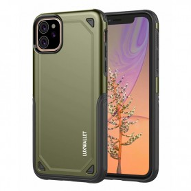 LUXWALLET® iPhone 11 Case - Desert Armor Drop Proof Hoes - Army Green