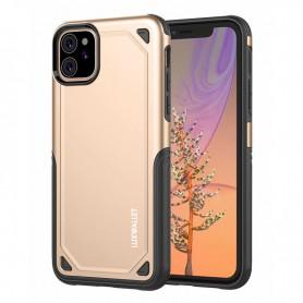 LUXWALLET® iPhone 11 Case - Desert Armor Drop Proof Hoes - Luxury Gold