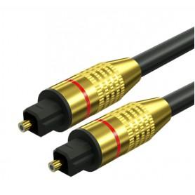 DrPhone Digitale Audio Toslink SPDIF Fiber Optische Audiokabel – 1 Meter