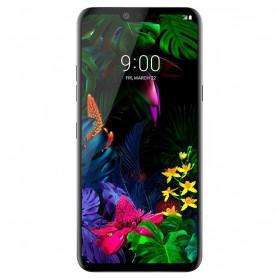 DrPhone LG G8s Thinq Glas 4D Volledige Glazen Dekking [Case Friendly] - Zwart