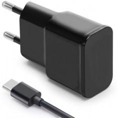OLESIT 5V 2A 10W. 1 poort USB Oplader UNS-1538 + + 1 Meter TYPE-C Kabel Zwart – Geschikt voor Samsung Modellen