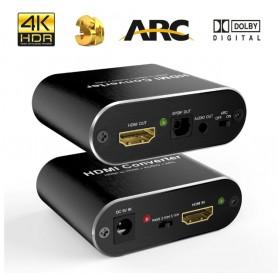 DrPhone HDMI Splitter /Converter - HDMI naar HDMI + SPDIF + Audio + ARC - 4K @ 60Hz