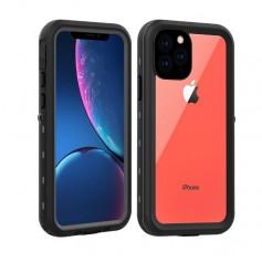 DrPhone iPhone 11 Pro MAX 6.5 inch Waterdichte Case - IP68 - Full-body beschermhoes (zwart)