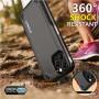 LUXWALLET® iPhone 11 Case - Desert Armor Drop Proof Hoes - Nightfall Black