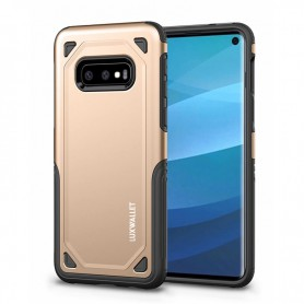 LUXWALLET® Samsung Galaxy S10e / S10 Lite Case - Desert Armor Drop Proof Hoes - Army Green