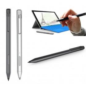 DrPhone SX Ultimate Actieve Stylus Pen - Universele Stylus Pen voor Microsoft Surface Pro 3, 4, 5,Book, Studio - Zilver