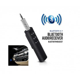 DrPhone BC Pro - Auto Receiver Bluetooth 4.1 - 3.5mm jack Aux Audio Adapter + Ontvanger Speaker / Hoofdtelefoon & Auto Stereo