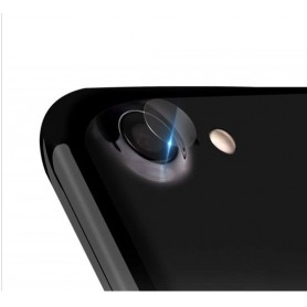 DrPhone - iPhone XR Camera Lens Protector - 0.2mm 9H - 2.15D Arc Edge Tempered Glass Gehard Glas Glazen Harde