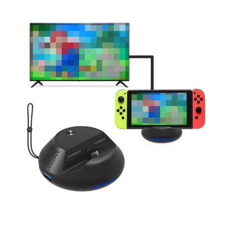 DrPhone - Switch Dock - Docking Station - Opladen - Playstand -