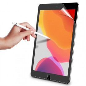 DrPhone iPad 10.2 2019 Screenprotector - krasbestendig - PET Schermfolie (geen tempered glass)