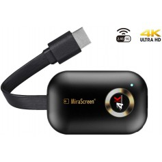 DrPhone HDMI Wireless Display Receiver- 5G WiFi 4K UHD Mirroring Adapter Dongle - Airplay/ Miracast /DLNA