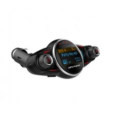 DrPhone BC9 Bluetooth FM-Transmitter - 2.1A USB-poort - Handsfree / Micro SD & USB / AUX & 1.2 inch Led display