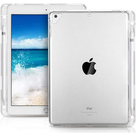 DrPhone iPad Mini 1/2/3/4/5 TPU Schokbestendige Case met Potlood houder voor de Apple Pencil