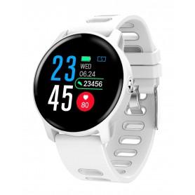 DrPhone - M7 Smartwatch - Waterdicht - Zwemmen - Hardlopen - Berichten ontvangen - Luxe Watch - Wit