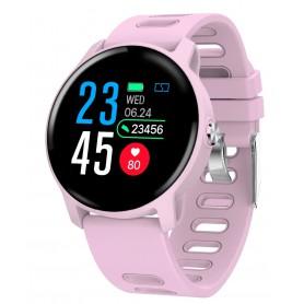 DrPhone - M7 Smartwatch - Waterdicht - Zwemmen - Hardlopen - Berichten ontvangen - Luxe Watch - Roze