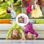 DrPhone Digitale Kinder Camera voor kinderen -1080P FHD met 2 inch IPS-scherm en 8 GB SD-kaart voor 3-10 jaar – lichtblauw