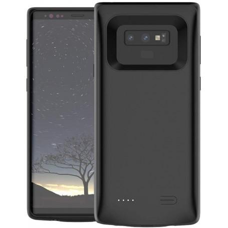 DrPhone Note 9 Powerbank – Externe Batterij- 5000 mAh - Beschermhoes – Zwart
