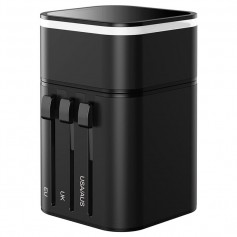 BASEUS JY-302PD GLOBAL TRAVEL ADAPTER - USB-C, USB - EU/UK/US/AU/CN