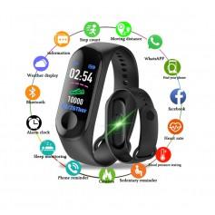 DrPhone® - KidsTime Activity Tracker Smartwatch Horloge voor Kids - Zwart