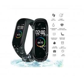 DrPhone – K1 - Activity tracker / Slimme Horloge Voor Kids - Zwart