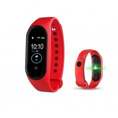 DrPhone – K1 - Activity tracker / Slimme Horloge Voor Kids - Rood