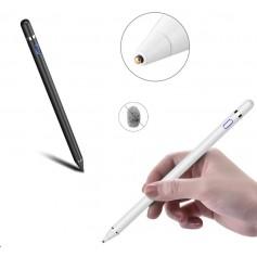 DrPhone Ultima Actieve Stylus Pen - 1.45mm - Magnetisch - ZWART Geschikt voor Apple iPad Pro / Air / Mini - Samsung Tablet