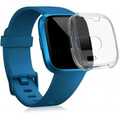 Drphone – Fitbit Versa 1 Gel Hoes – Flexibel – Schokbestendig – Transparant