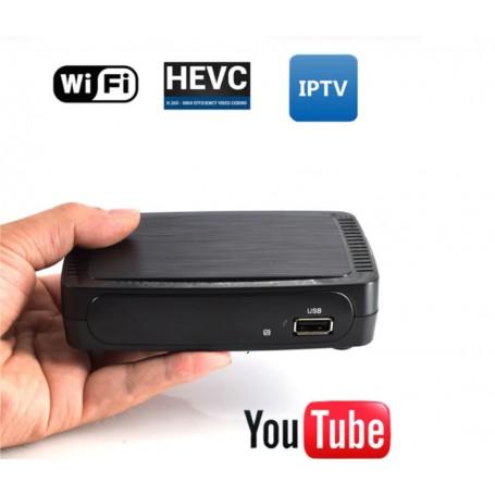 DrPhone® BraveII - TV Ontvanger Satelliet Internet Digitale Set Top Box Iptv Ontvanger Decoder TV BOX - Zwart