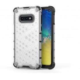 DrPhone - XGON Protect Samsung S10E Back Cover - Hoesje – Case - Valbestendig 2 meter