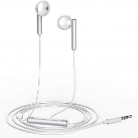 Huawei Oortelefoon Half-in-ear-koptelefoon met externe draadregeling en microfoon - Metallic Afwerking
